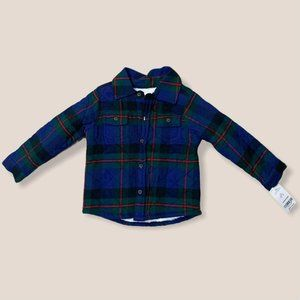 Carter's Baby Plaid Shirt Jacket Size 24 months